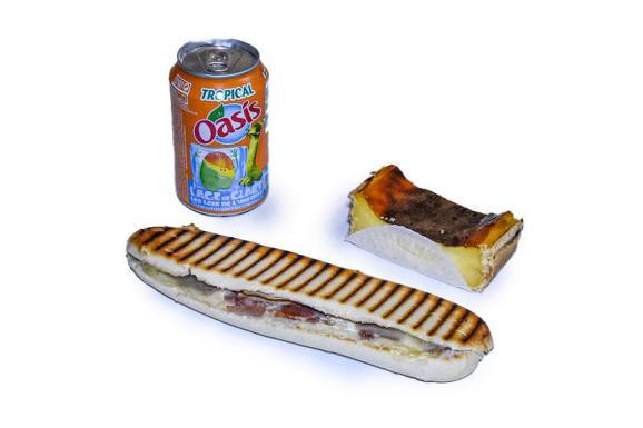 Sandwich boisson dessert